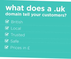 UK Domain - Reasons Why