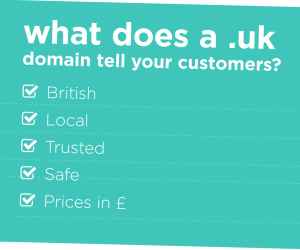 UK Domain - Reasons Why