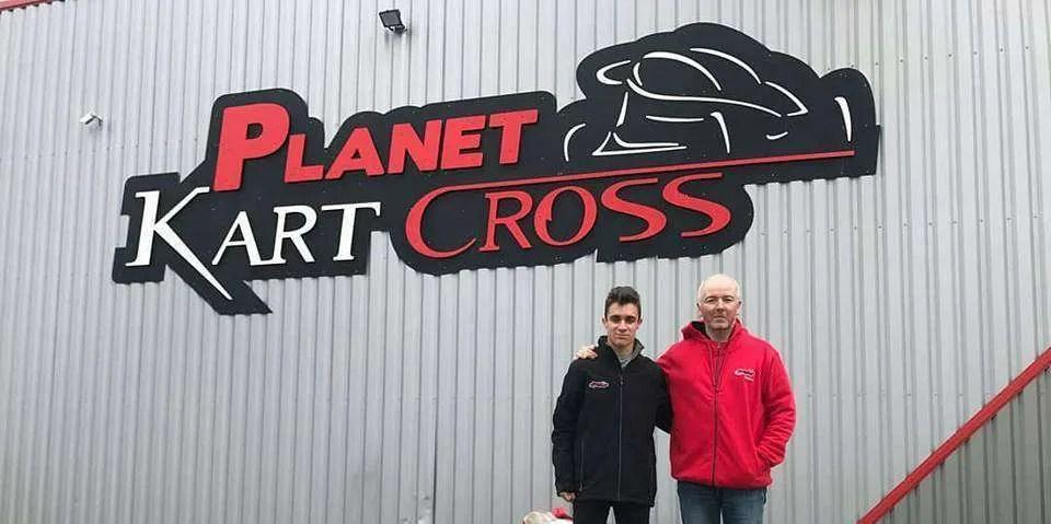 Gabriel Di Pietro con Planet Kart Cross e Planet Kart Cross Italia nel 2018