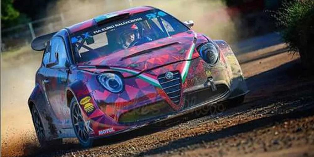 Andrea Carretti, team manager della Tedak Racing scende in pista con la nuova Alfa Romeo Mito S1600