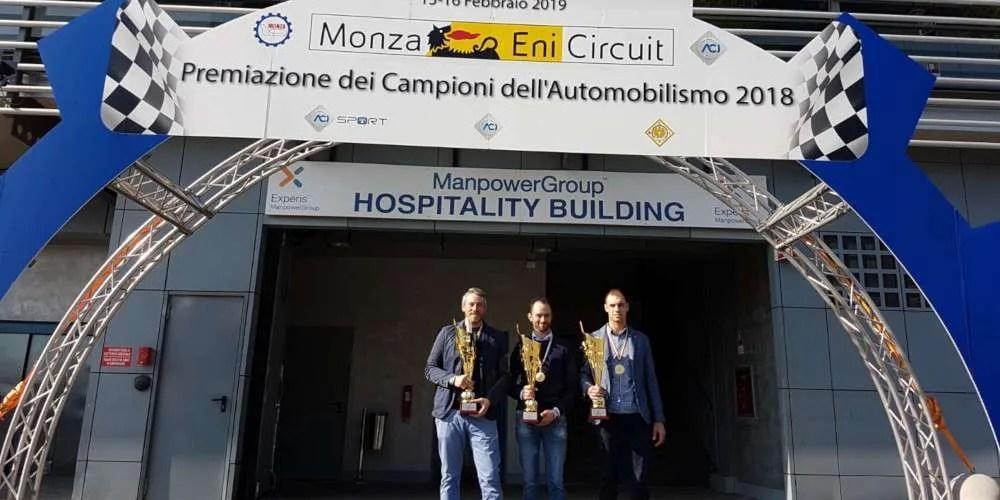Premiazione dei Campioni dell'Automobilismo 2018