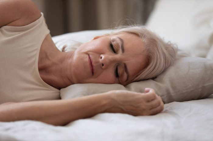 hiatus hernia not stopping this woman from sleeping soundly