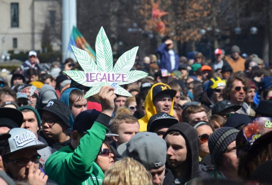 Legalize cannabis rally