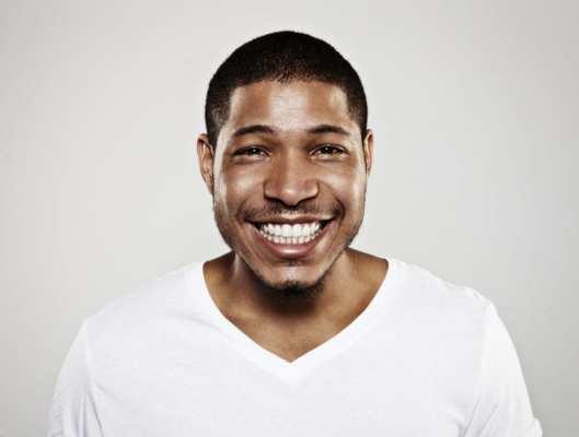 Close up of happy man