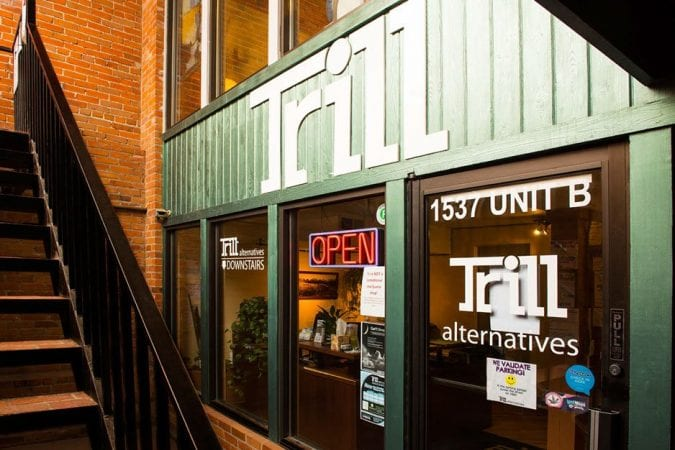 Store Front for Trill Alternative