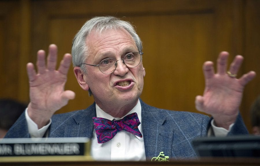Earl Blumenauer, cannabis, congress, legalization, USA, cannabis bill, prohibition, ending prohibition, cannabis bills, federal laws