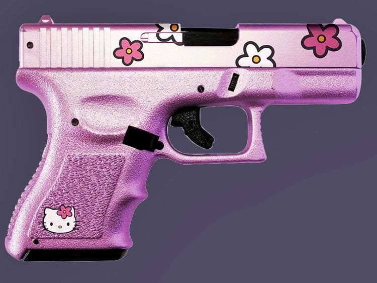 Pink Hello Kitty Glock