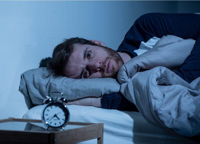 a man who can't sleep