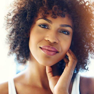neurochemistry changes mood happy black woman