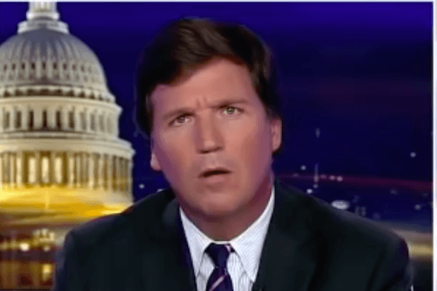 tucker carlson, looking slightly confused, recently insinuated cannabis is responsible for acts of violence