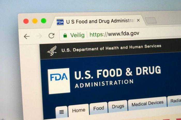 the FDA website