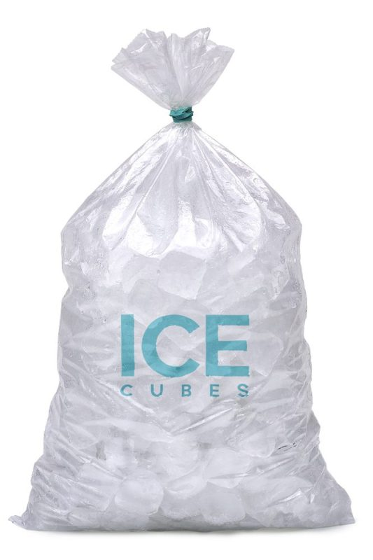 ice, used in making ice wax