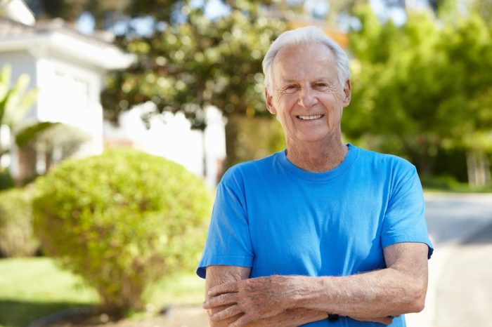 parkinson's psychosis not a problem for this happy older adult