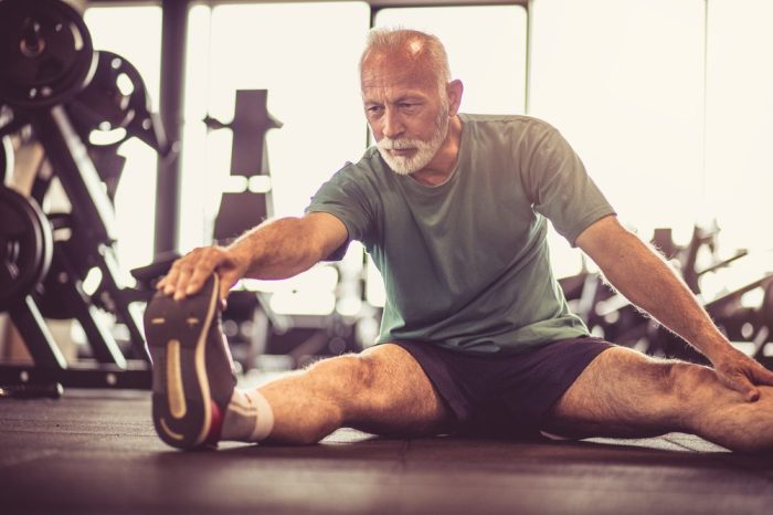 glycine receptors in this man's spine helping him be fit and exercise