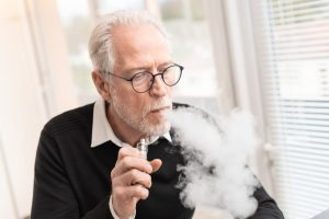 non smoker life insurance is hard to get for vapers like this man