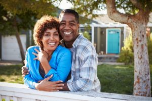 older black female who might be Using Cannabis to Treat Menopause is happy with her husband
