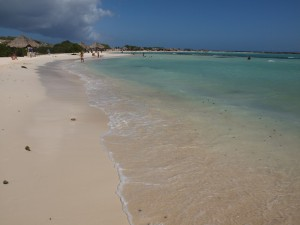 Baby Beach Aruba.  Click image to enlarge.