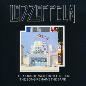 Led Zeppelin:  The Song Remains The Same album cover