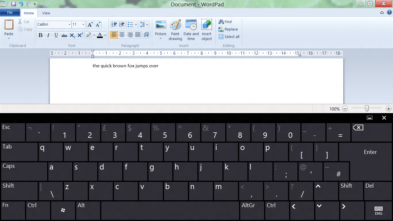 How to disable the On-Screen Touch Virtual Keyboard in Windows 8