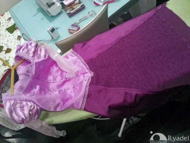 Rapunzel Tangled Cosplay - Corset Skirt Gown junction 3