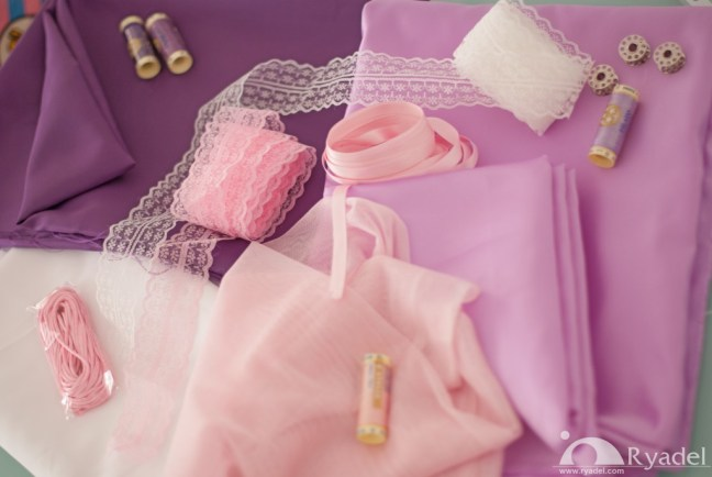 Rapunzel Tangled Cosplay materials