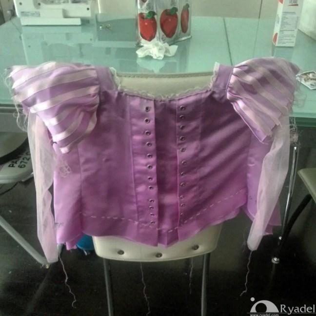 Rapunzel Tangled Cosplay - Corset 2