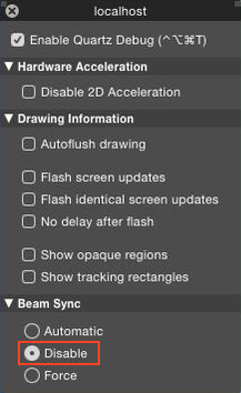 quartzdebug_beam_sync_off_yosemite