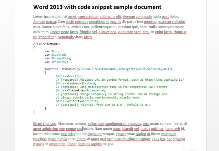code-snippet-in-ms-word