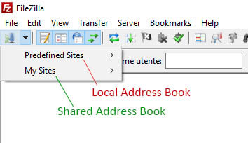 FileZilla-Shared-AddressBook