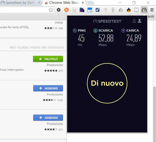 Speed Test by Ookla switches to HTML5 and gets a Chrome Extension