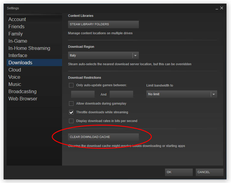 How to fix Steam Download Queued / Update Queued issue