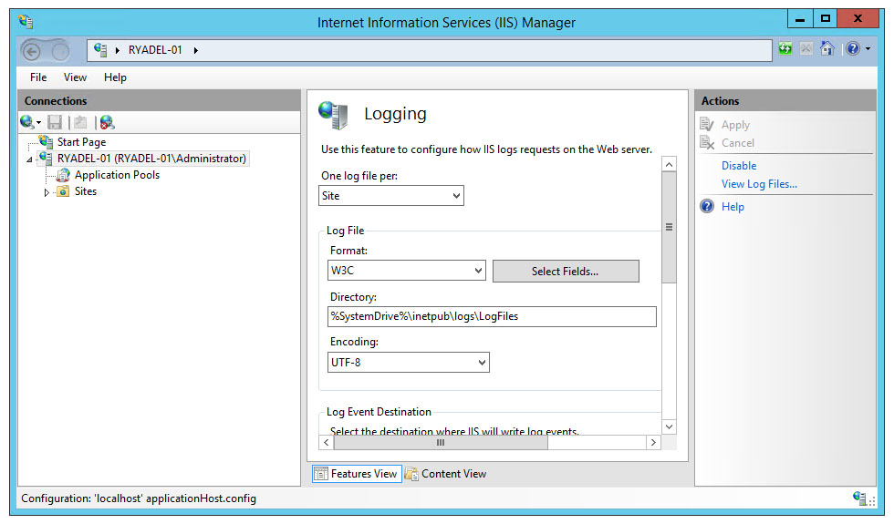 Manage IIS Log Files and purge those older than N days with