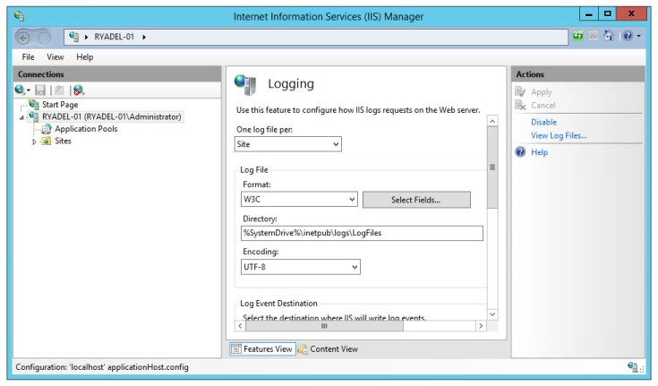 iis-manager-logging-screen