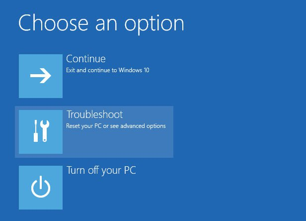 How to go into Safe Mode in Windows 10 without having to log in