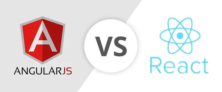 AngularJS Vs  ReactJS: A Comparative Study - React vs Angular