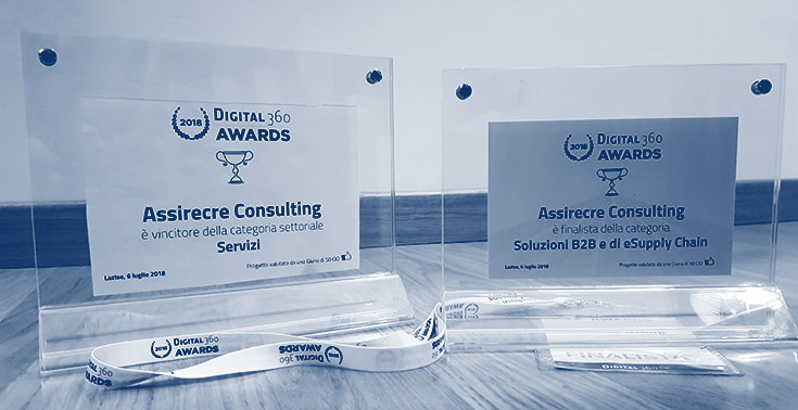 Digital360 Awards 2018 - PWA di AssirecreGroup vincitore nella categoria dei Servizi