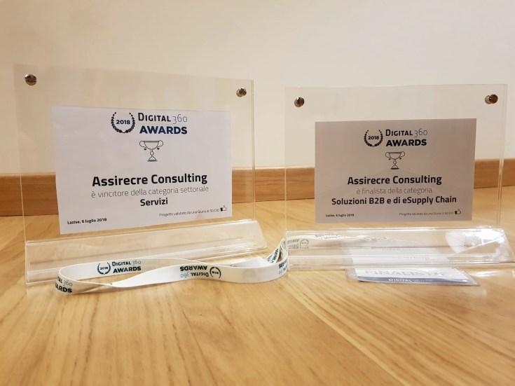 Digital360 Awards 2018 - PWA di AssirecreGroup vincitore nella categoria dei Servizi
