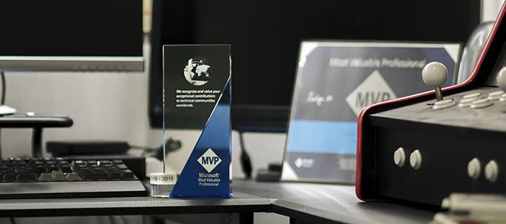 Microsoft MVP Award 2018-2019 in Developer Technologies