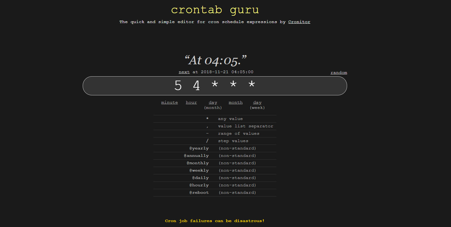 Linux - Auto-Reboot and Shutdown with Cron Jobs