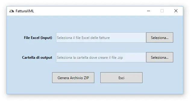 FatturaXML - Crea Fatture Elettroniche da Excel e altri formati