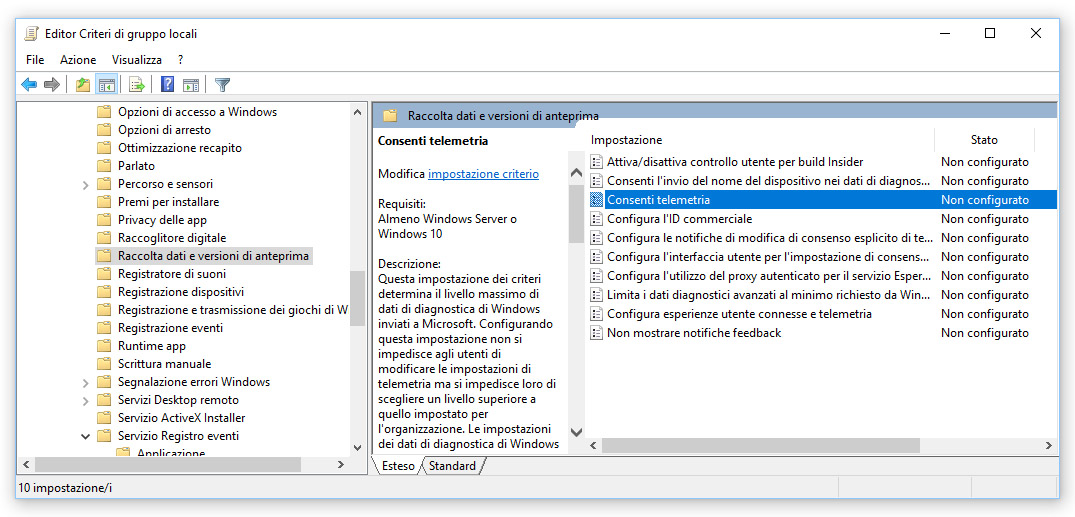How to disable Microsoft Compatibility Telemetry on Windows 10