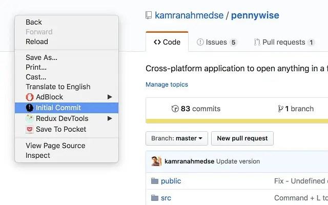 Come visualizzare la prima data di commit di un repository GitHub