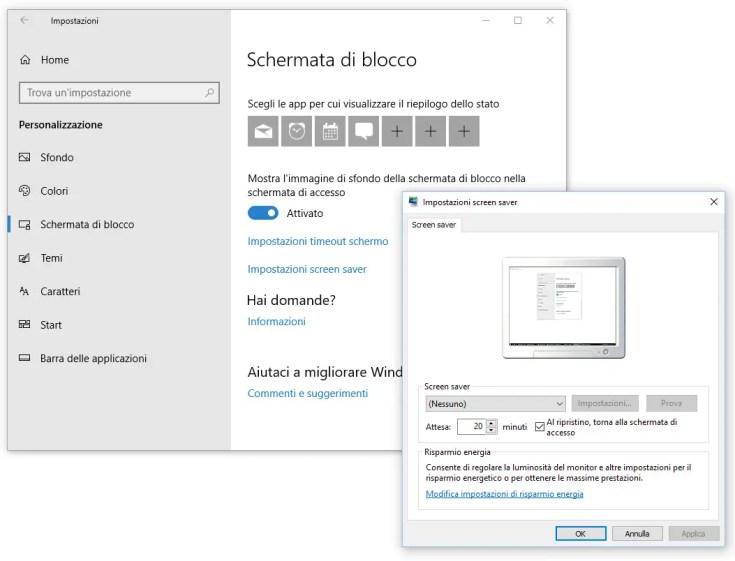 Windows e Windows Server - Impostazioni di sicurezza account