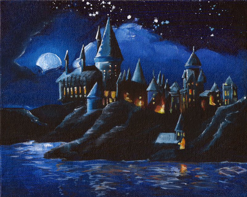 Hogwarts-Castle by Ryan Burdzinski