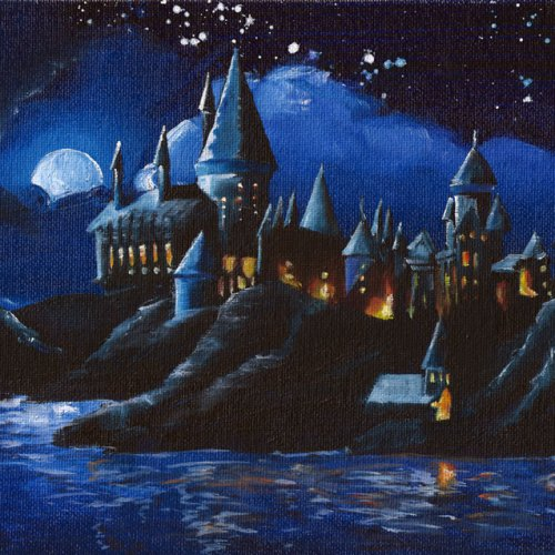 Hogwarts Castle By Ryan Burdzinski