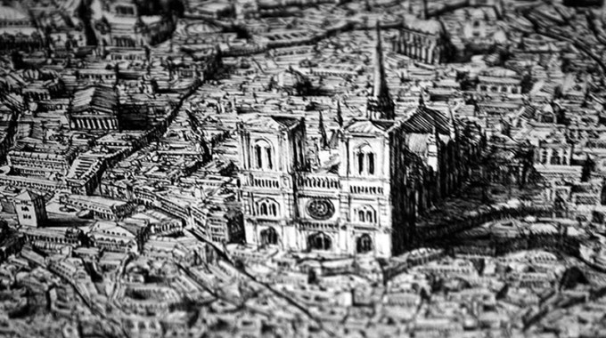 Insanely Detailed Pen And Ink Drawings By Artist Ben Sack