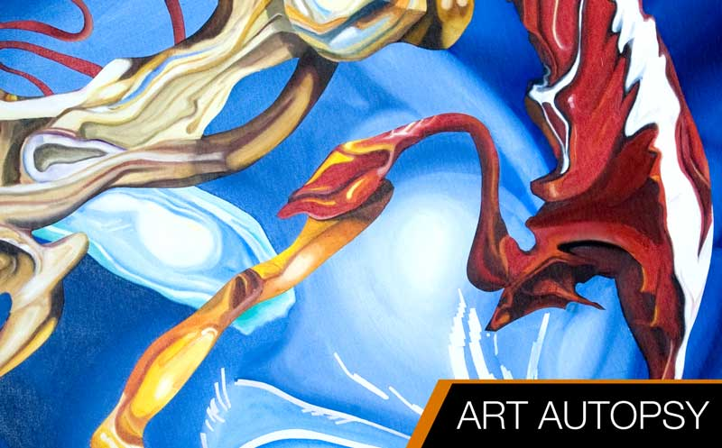ART AUTOPSY: The Blue Devil by Ryan Burdzinski