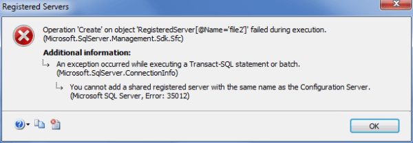 CMS Registration Error