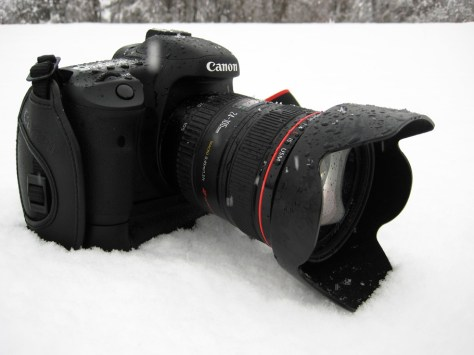 Canon 7D in the Snow