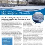 Champlin City Council significantly reduced the proposed property tax increase for 2018.